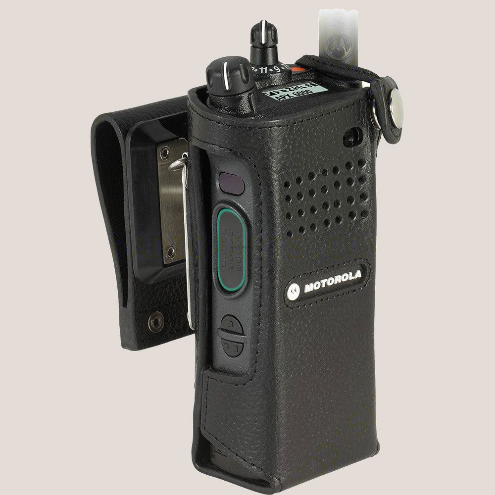 Radio holder motorola apx 6000 - Motorola Pmln5657b Swivel Belt Loop Leather Case For Apx 6000 Pmln5657a Pmln5657