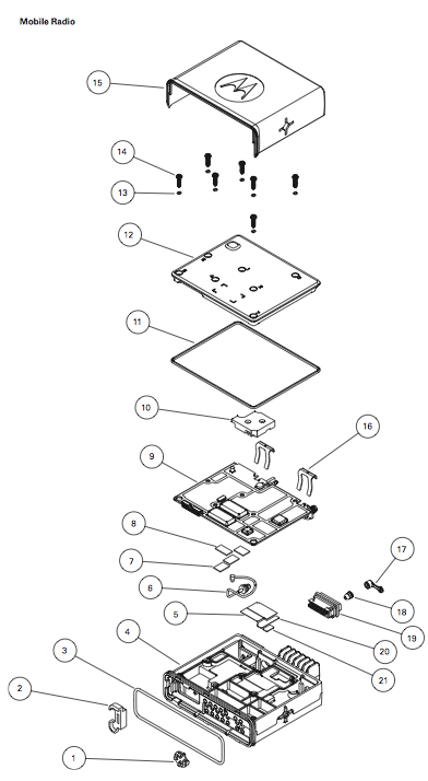 Motorola Xpr 4350 Wiring Diagram